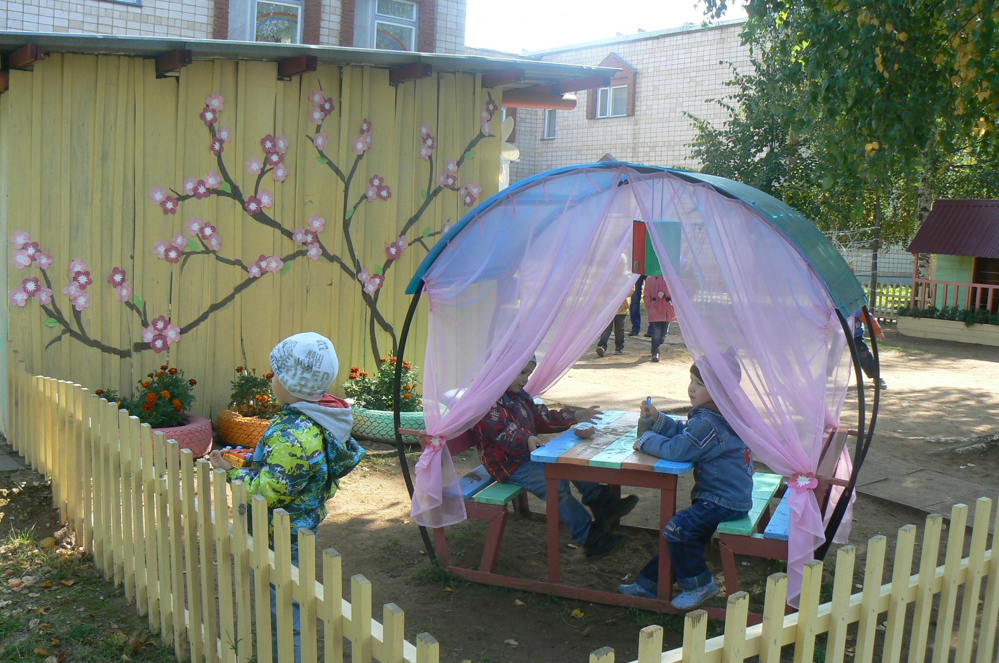 Украшение веранды своими руками детского сада